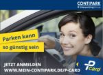Contipark P Card